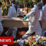 Coronavirus: Brazil's daily death toll hits 1,000 for first time   BBC News
