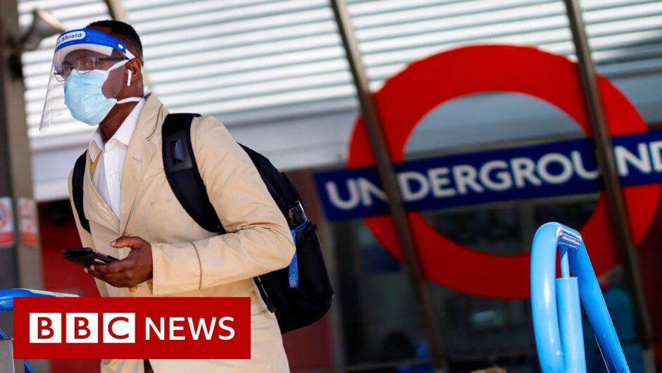 Coronavirus: Train stations put crowd control measures in place   BBC News