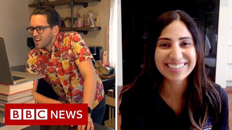 Coronavirus: How to combat back pain while working from home   BBC News