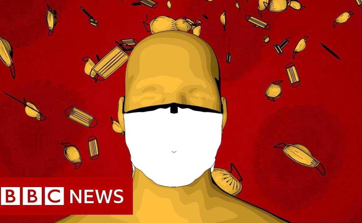 Coronavirus: How should I wear a face covering?   BBC News
