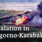 Armenia and Azerbaijan clash over disputed Nagorno Karabakh region | DW News