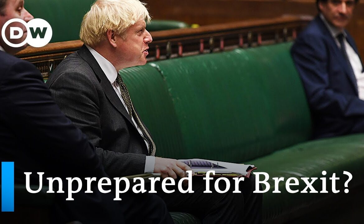 After Covid: Will Brexit be the next shock for Britain's economy?   DW News