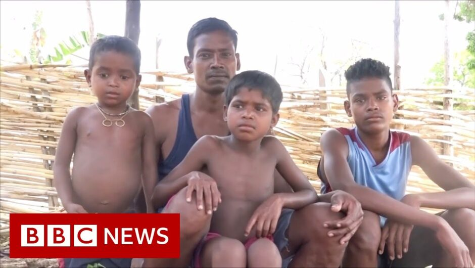 Coronavirus in India: Migrants fled cities on foot to their home villages   BBC News