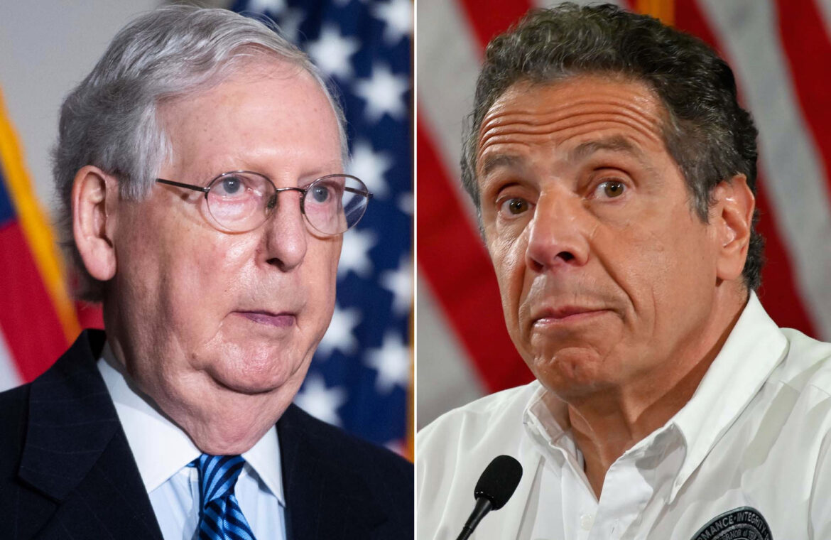 McConnell rips Cuomo for 'opposing' Trump on COVID 19 vaccine