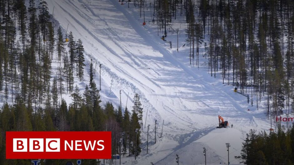 Coronavirus: The ski resort saving snow for next season   BBC News