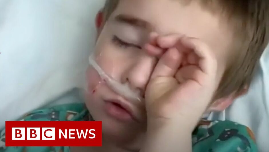 Coronavirus: When your child's in intensive care with Covid 19   BBC News