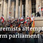 Germany shocked by far right protesters trying to enter Parliament | DW News