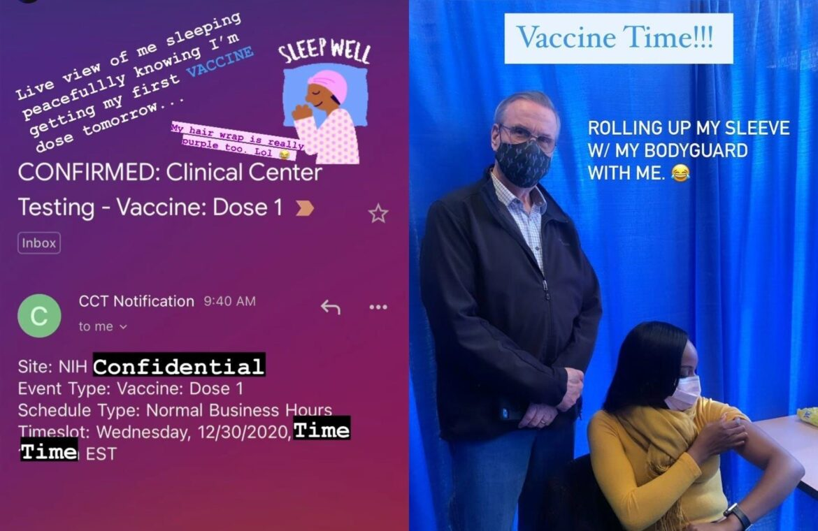 The Black scientist who helped develop Moderna's COVID 19 vaccine just got her first shot