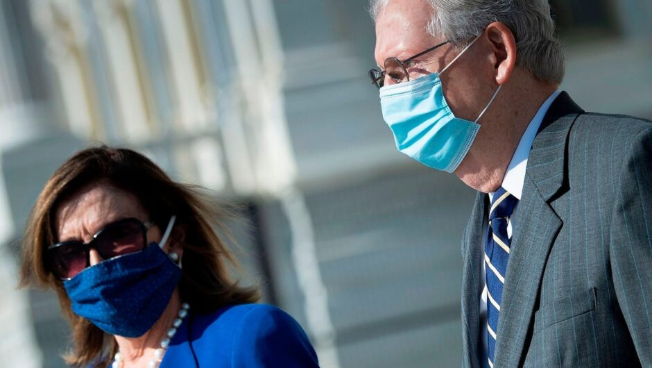 Nancy Pelosi and Chuck Schumer just embraced a $908 billion coronavirus relief plan in a huge concession to get federal aid out the door quickly