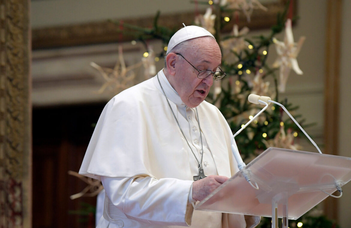 Pope Francis calls on nations to share COVID 19 vaccines