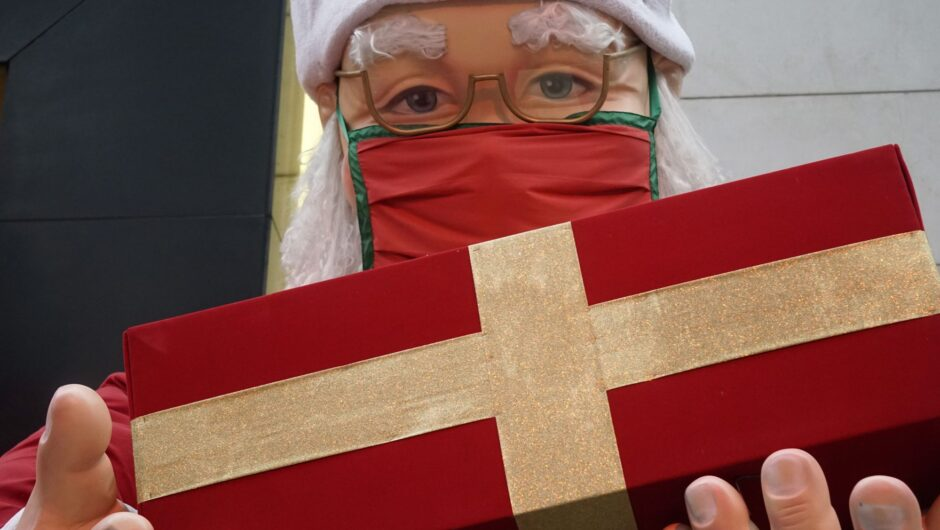 Over 70 people test positive for COVID 19 at a nursing home in Belgium after a visit from a man dressed up as Santa Claus