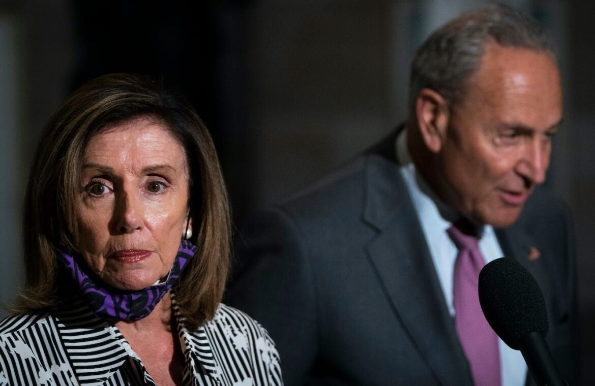 Democrats sent a secret new COVID 19 stimulus proposal to Mitch McConnell as congressional leaders struggled to agree on a plan, report says