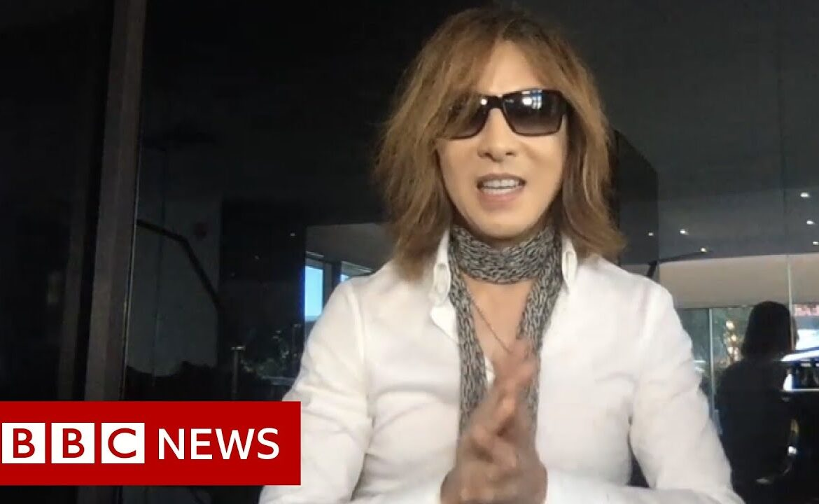 Coronavirus: The Japanese musician Yoshiki on #SING4LIFE   BBC News