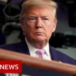 Trump warns of 'toughest week' of pandemic yet   BBC News