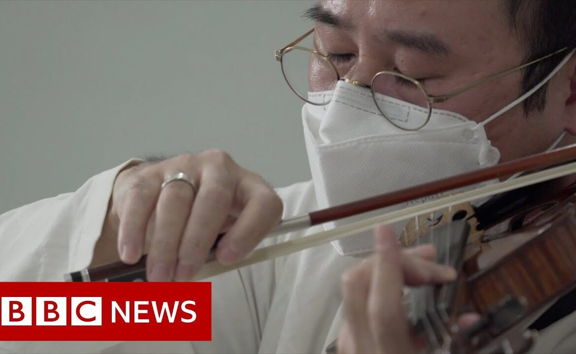 Classical music for coronavirus patients in South Korea   BBC News