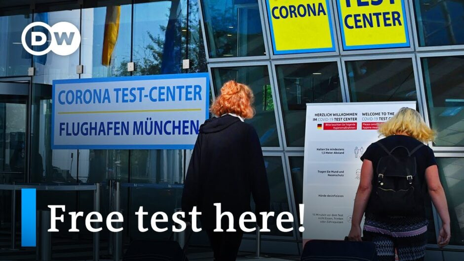 Germany begins mandatory coronavirus tests for travelers | DW News