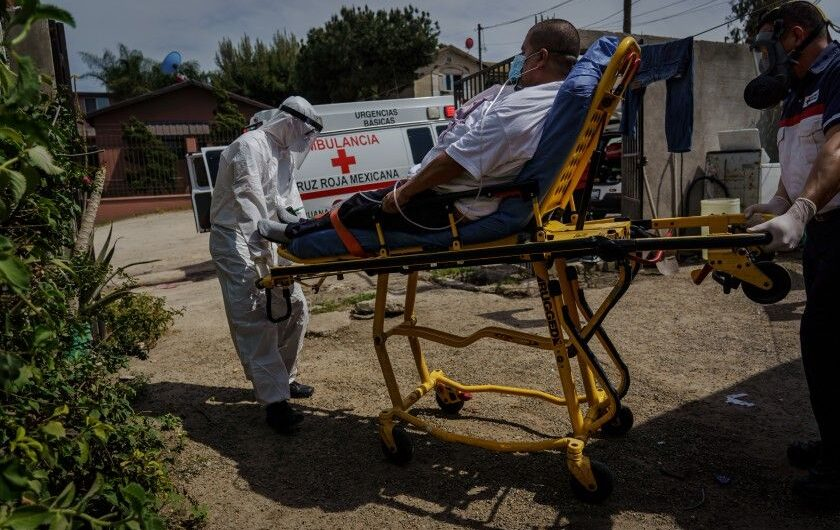 As Mexico enters the darkest days of the COVID 19 pandemic, its vaccination plan takes a hit