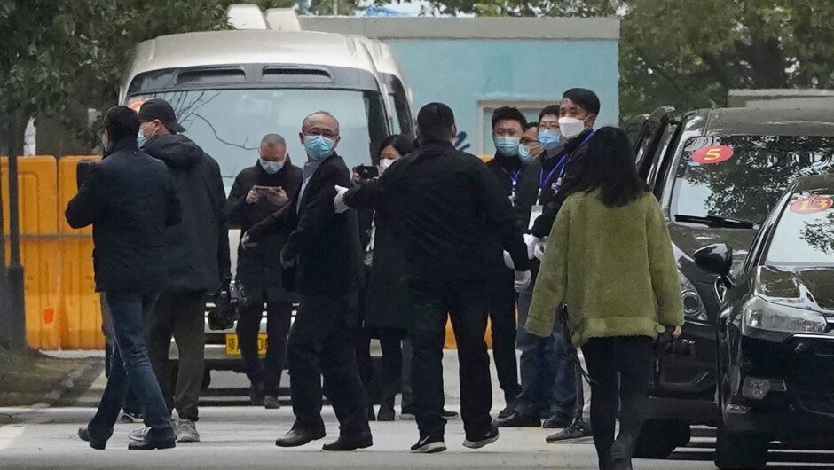 WHO team visits another Chinese hospital in COVID 19 investigation