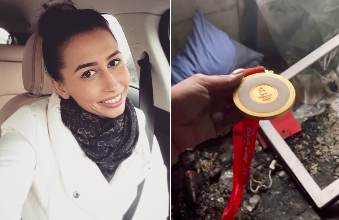 Olympian loses home to fire after failing to smell smoke due to COVID 19