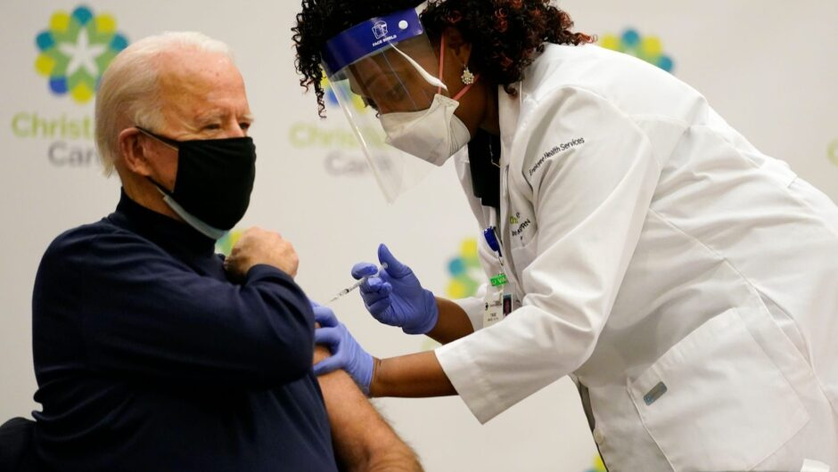 Biden said undocumented immigrants should have access to the COVID 19 vaccine without fear of being arrested by ICE