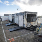 Dutch COVID 19 testing facility torched during ongoing riots