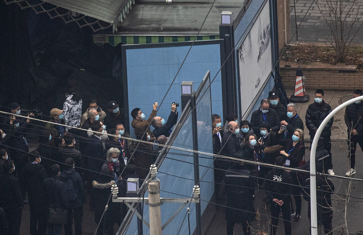 WHO team tours Wuhan market linked to COVID 19 outbreak
