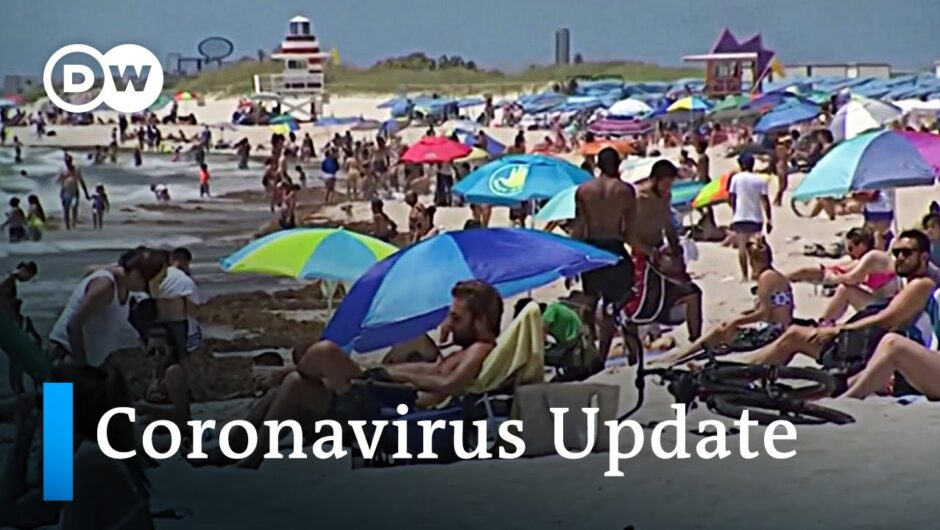 Coronavirus update   Latest developments around the world | DW News