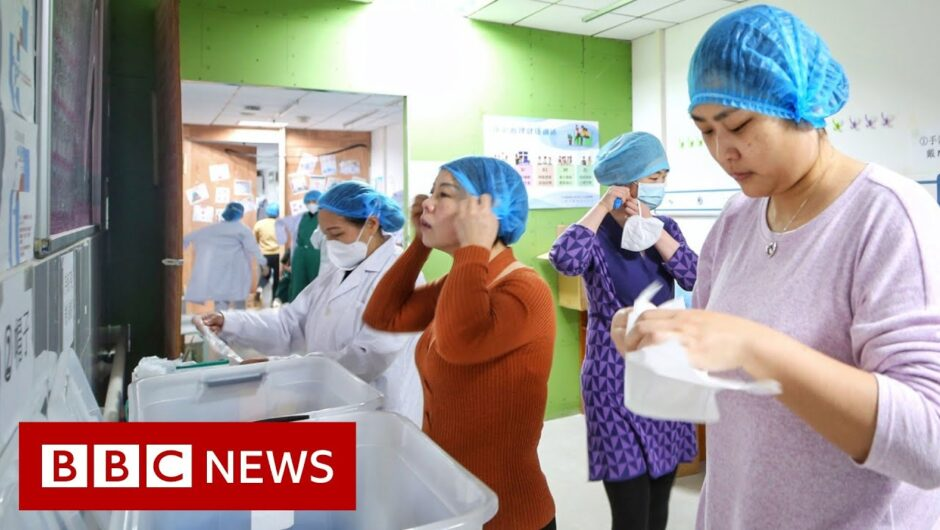 Coronavirus: Some workplaces in Wuhan to re open   BBC News