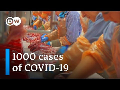 Coronavirus infects more than 1000 at German meat processing plant | DW News