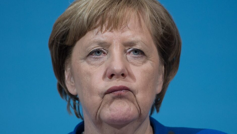 Merkel says she won't take AstraZeneca's COVID 19 vaccine because she's too old, as 1.4 million jabs are left unused