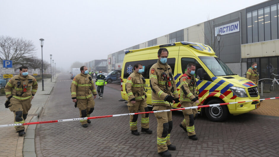Explosion damages COVID 19 testing center in the Netherlands