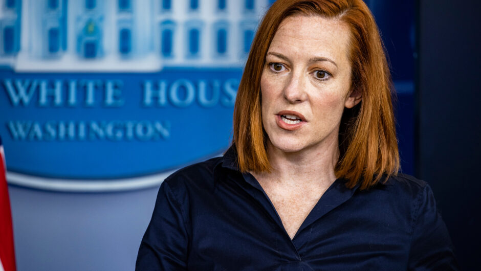 Psaki defends attack on governors, denies 'importing' COVID 19